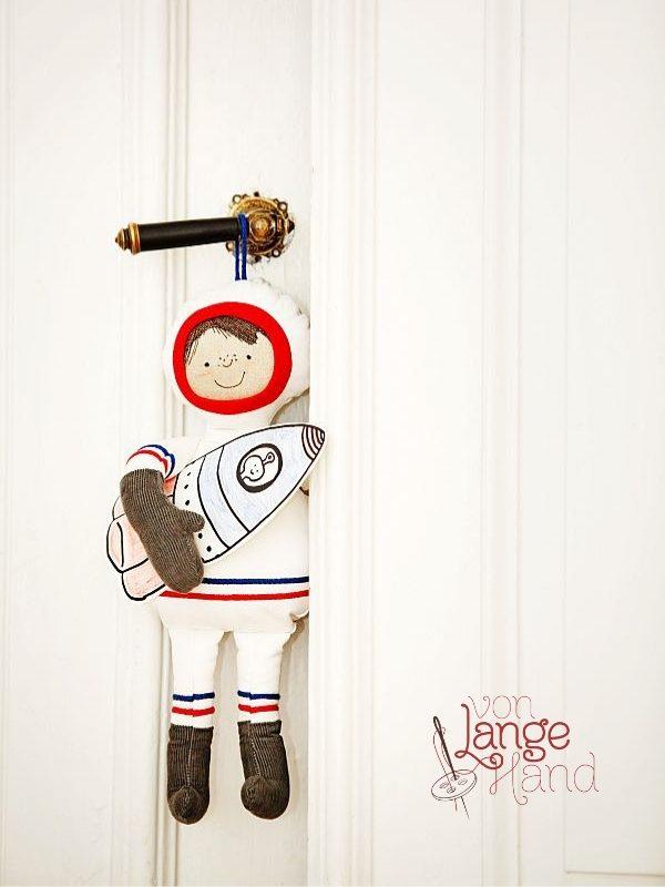 Nähanleitung Astronaut von Lange Hand.