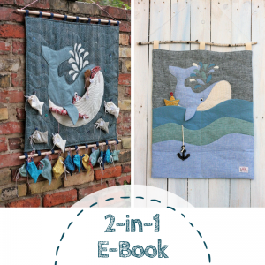 2-in1-Ebook Adventskalender und Utensilo Grosser Wal von Lange Hand