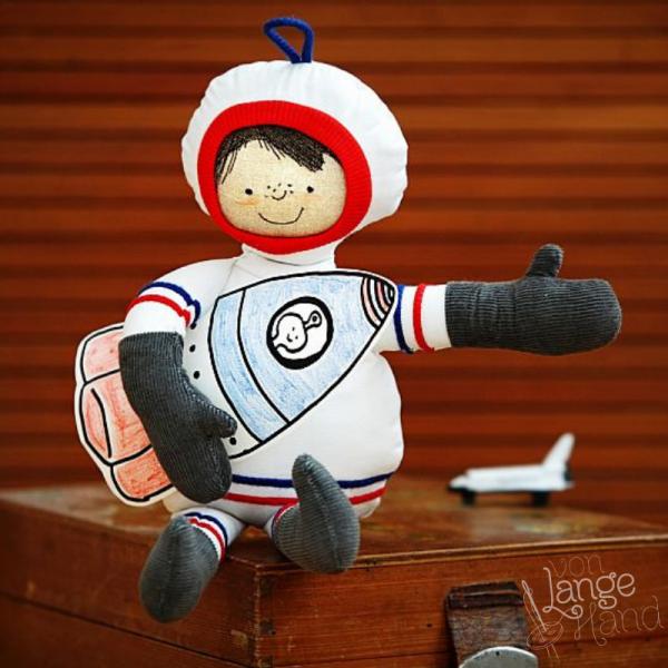 Nähanleitung Astronaut von Lange Hand