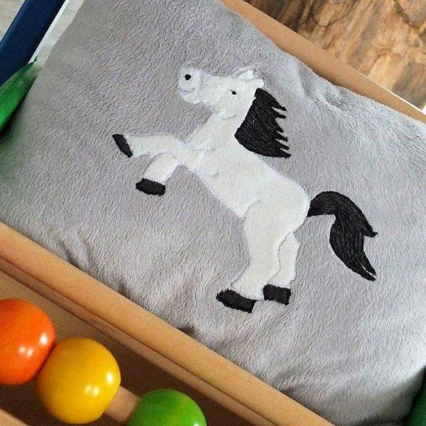 Appliziervorlage Pony und Einhorn von Lange Hand