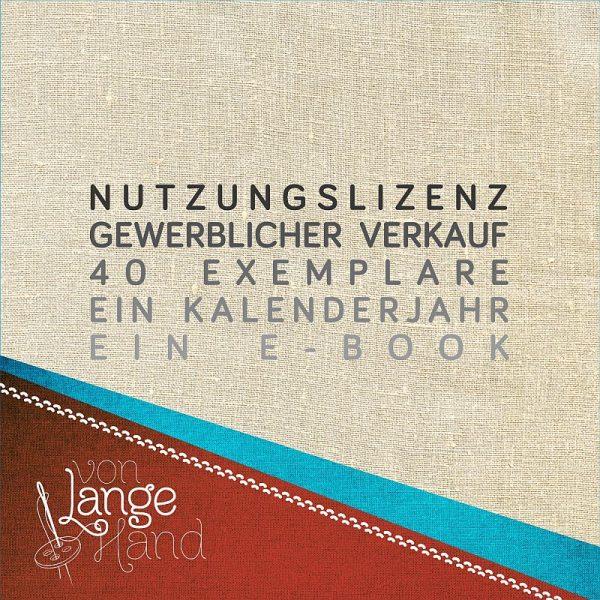 Gewerbelizenz für ein Ebook von Lange Hand