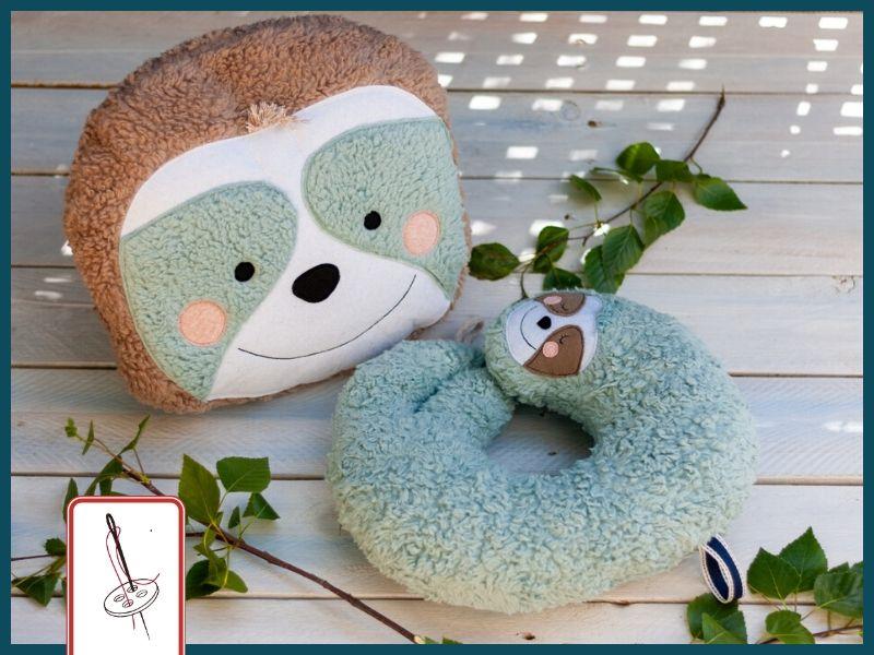 Nackenhoernchen naehen - Nackenhörnchen mit passender Kissenhülle