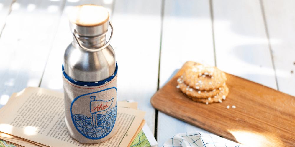 Flaschenhuelle naehen Tutorial