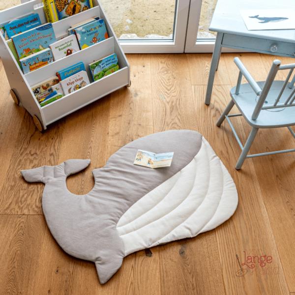 Nähanleitung Wal als Bett- & Badvorleger