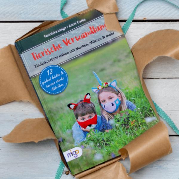 """Kindermasken naehen – Naehbuch """"Tierische Verwandlung"""""""